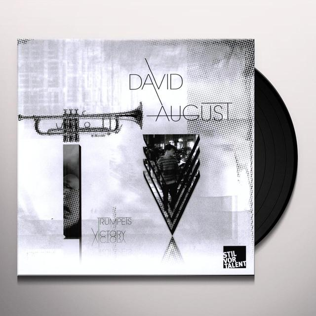 David August TRUMPETS VICTORY Vinyl Record
