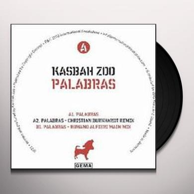 Kasbah Zoo PALABRAS Vinyl Record