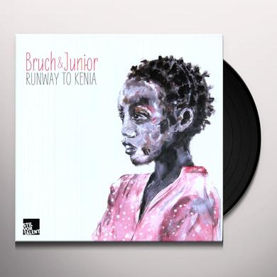 Bruch & Junior RUNWAY TO KENIA Vinyl Record