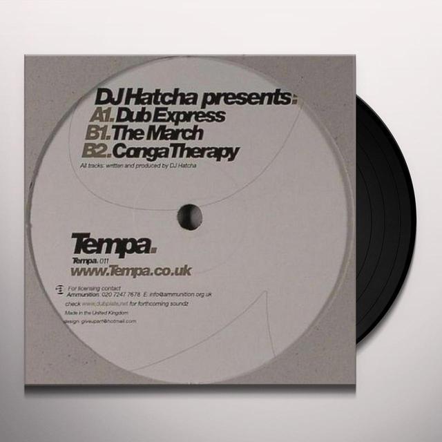 Dj Hatcha DUB EXPRESS Vinyl Record