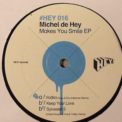 Michel De Hey MAKES YOU SMILE Vinyl Record