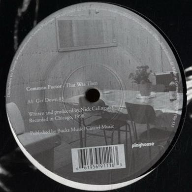 Common Factor THAT WAS THEN Vinyl Record