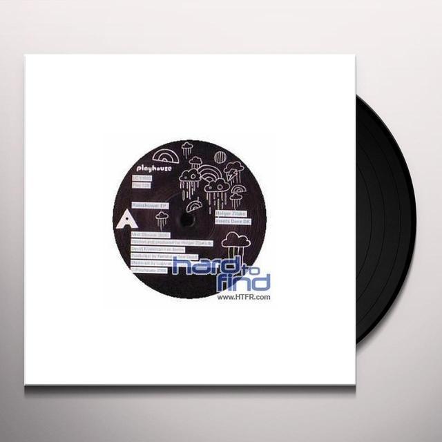 Holger Zilske & Dave Dk RAINSHOWER (EP) Vinyl Record