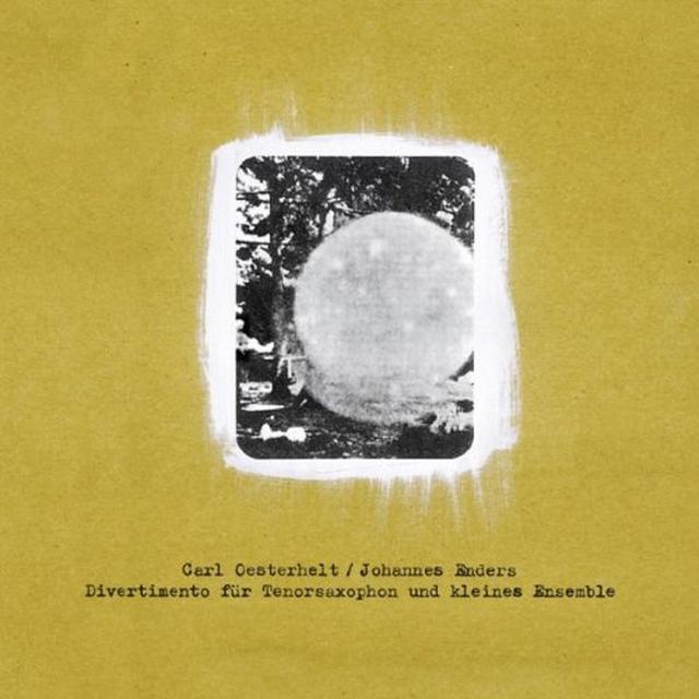 Carl Oesterhelt / Johannes Enders DIVERTIMENTO FUR TENORSAXOPHON UND KLEINES Vinyl Record