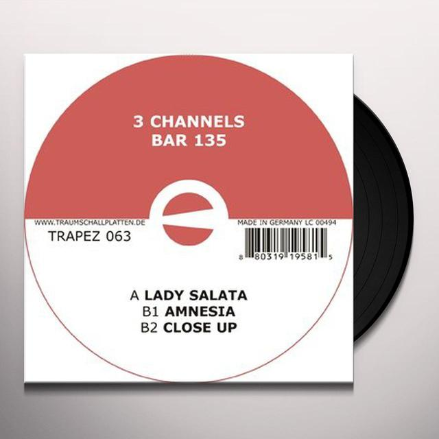 3 Channels BAR 135 Vinyl Record