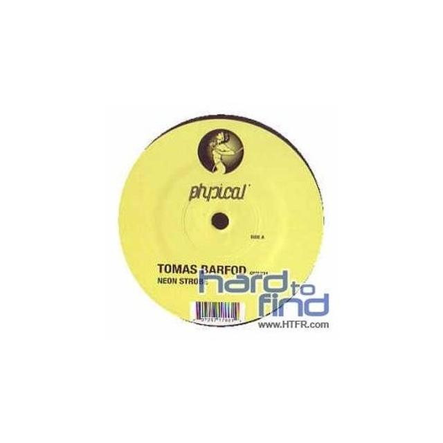 Tomas Barfod NEON STROBE Vinyl Record