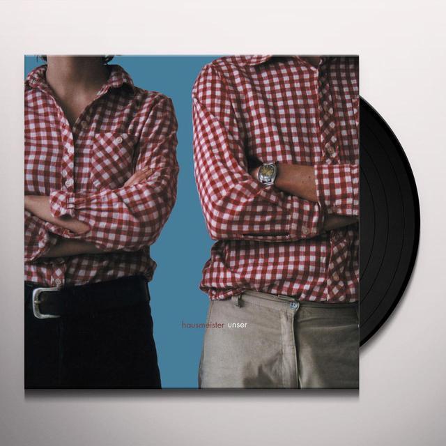 Hausmeister UNSER Vinyl Record