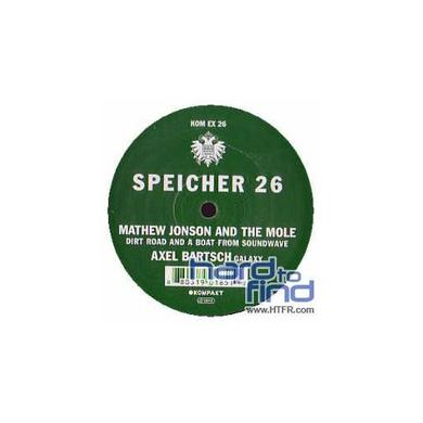 Mathew Jonson & Axel Mole / Bartsch SPEICHER 26 Vinyl Record