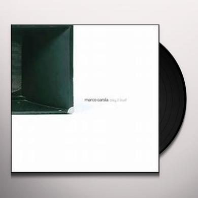 Marco Carola PLAY IT LOUD Vinyl Record
