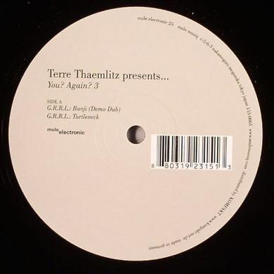 Terre Thaemlitz YOU AGAIN 3 Vinyl Record