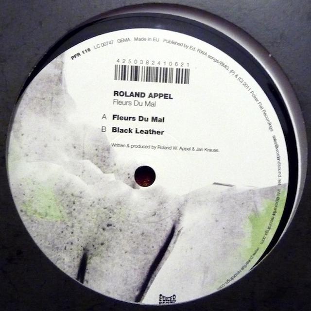 Roland Appel FLEURS DU MAL Vinyl Record