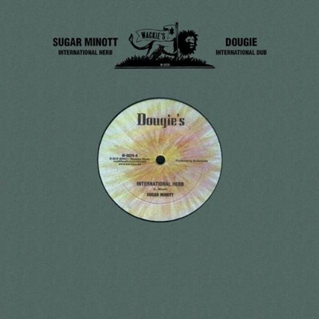 Sugar Minott INTERNATIONAL HERB Vinyl Record