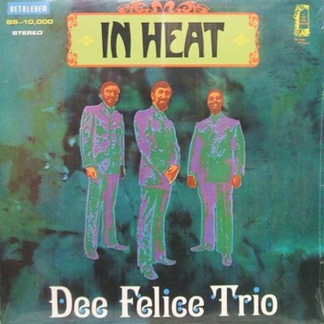 Dee Felice Trio IN HEAT Vinyl Record