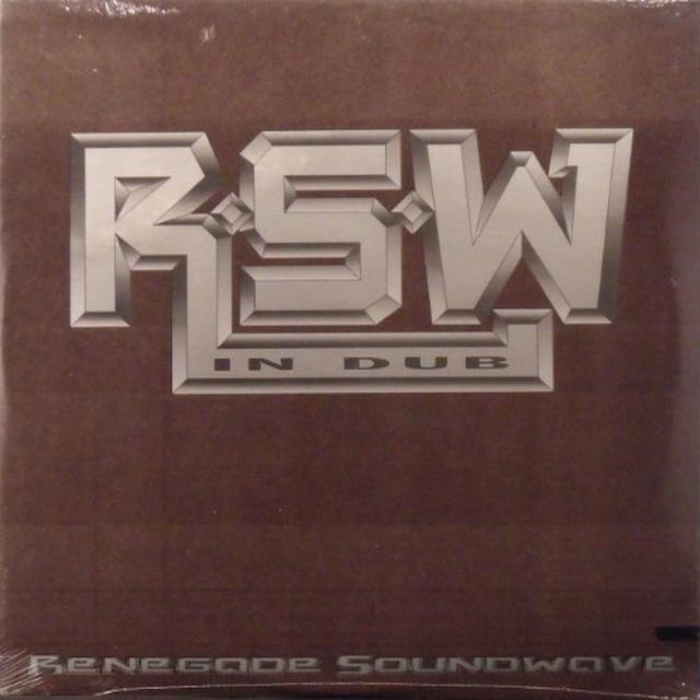 Renegade Soundwave IN DUB Vinyl Record