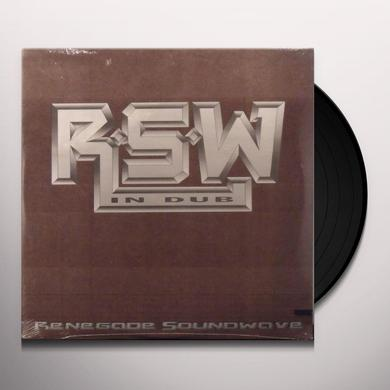 Renegade Soundwave IN DUB Vinyl Record