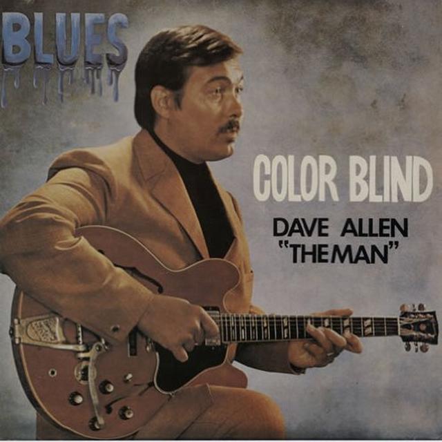 Dave Allen COLOR BLIND Vinyl Record