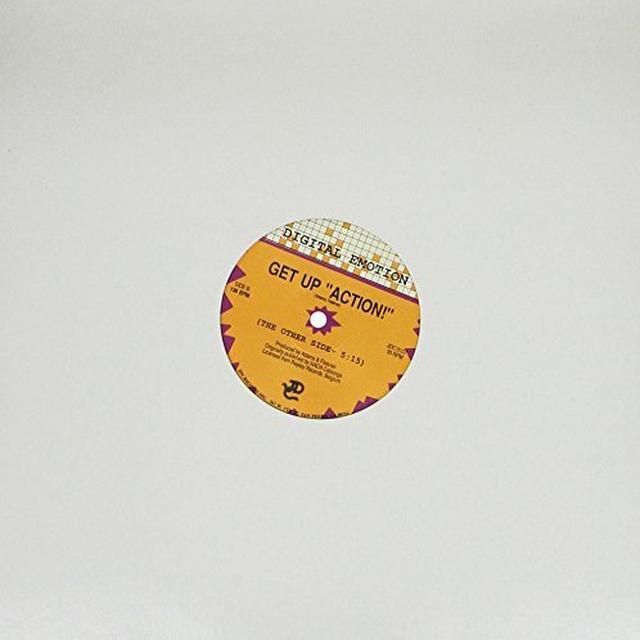 Digital Emotion GET UP ACTION Vinyl Record
