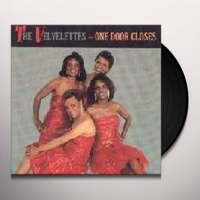 Velvelettes ONE DOOR CLOSES Vinyl Record