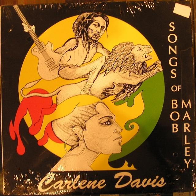 Carlene Davis SONGS OF BOB MARLEY Vinyl Record