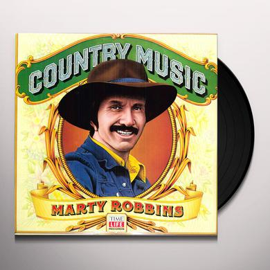 Marty Robbins COUNTRY MUSIC Vinyl Record
