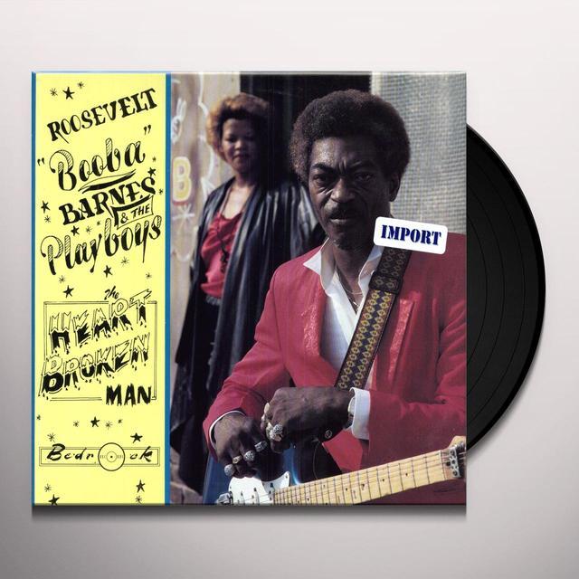Roosevelt Barnes HEARTBROKEN MAN Vinyl Record