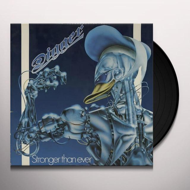 Grave Digger STRONGER THAN EVER Vinyl Record