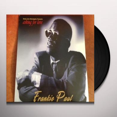 Frankie Paul ASKING FOR LOVE Vinyl Record
