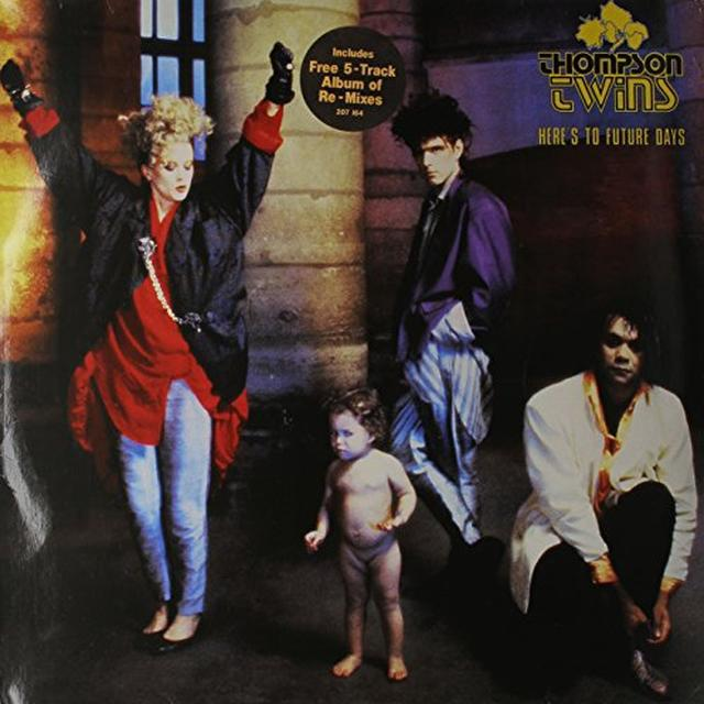 Thompson Twins HERE'S TO FUTURE DAYS Vinyl Record
