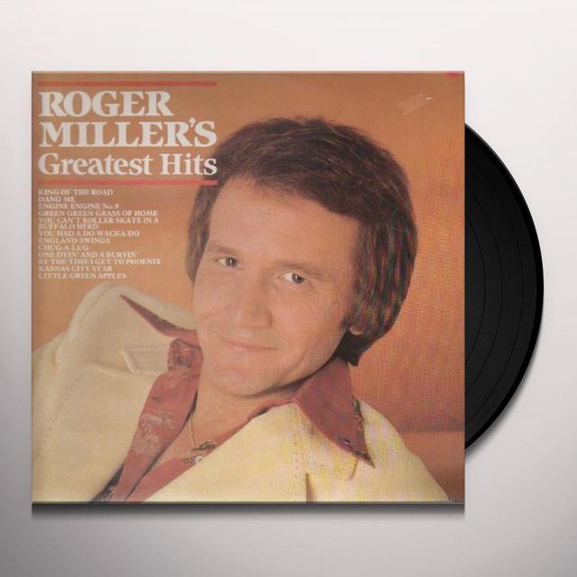 Roger Miller GREATEST HITS Vinyl Record