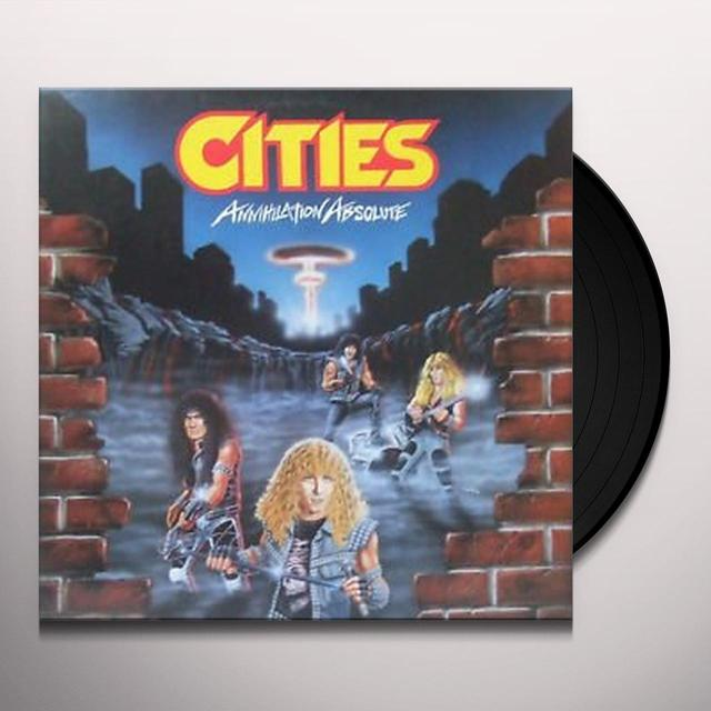 Cities ANNIHILATION ABSOLUTE Vinyl Record