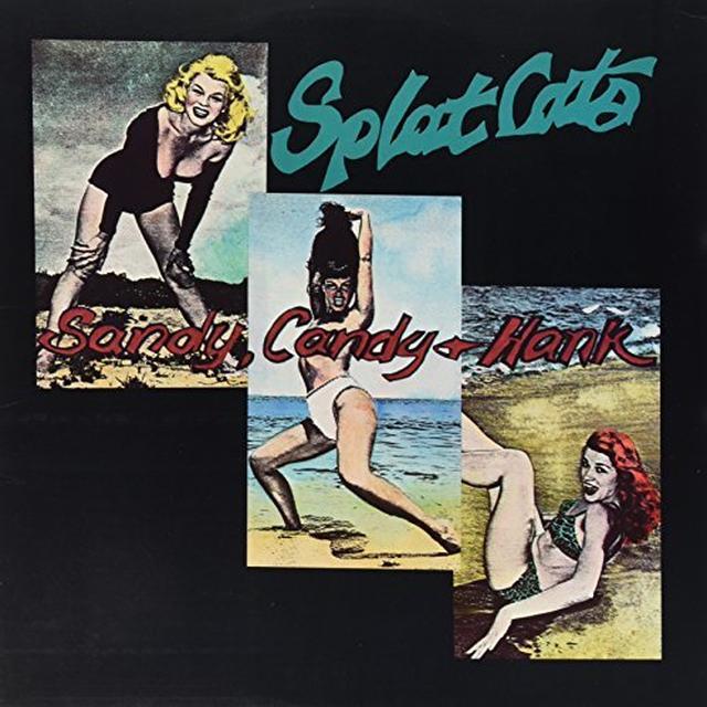 Splatcats SANDY CANDY & HANK EP Vinyl Record