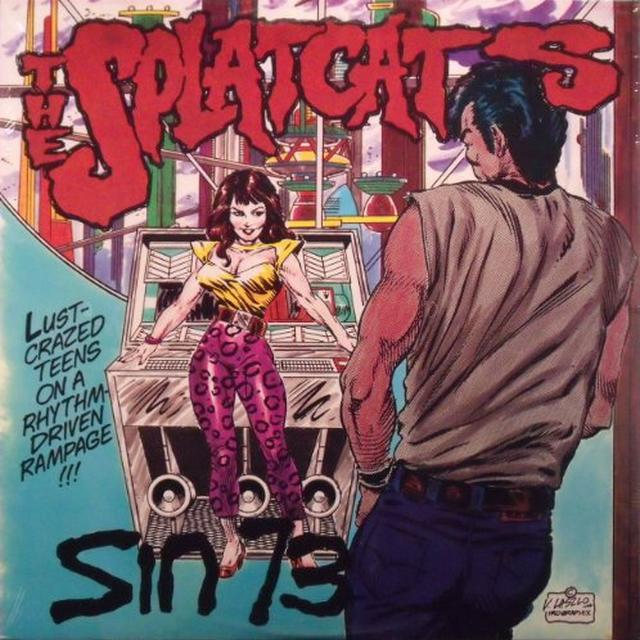 Splatcats SIN 73 Vinyl Record