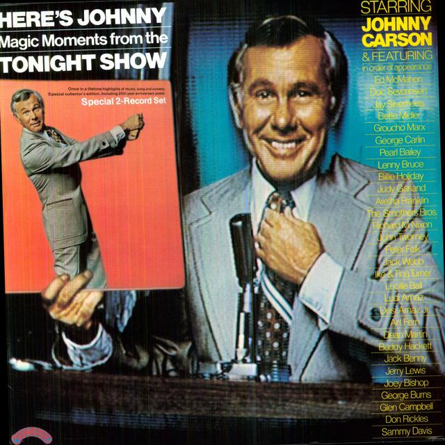HERE'S JOHNNY-MAGIC MOMENTS TONIGHT SHOW / O.S.T. Vinyl Record