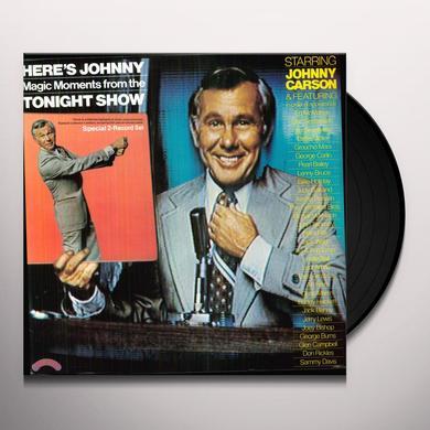 HERE'S JOHNNY-MAGIC MOMENTS TONIGHT SHOW / O.S.T. Vinyl Record