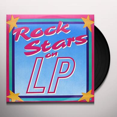 Rock Stars On Lp 60 TRACKS-50'S & 60'S Vinyl Record