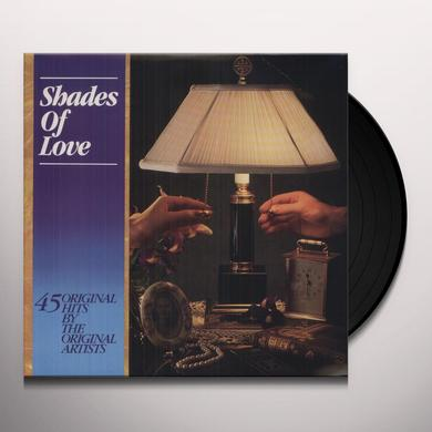 Shades Of Love 45 TRACKS-70'S & 80'S Vinyl Record