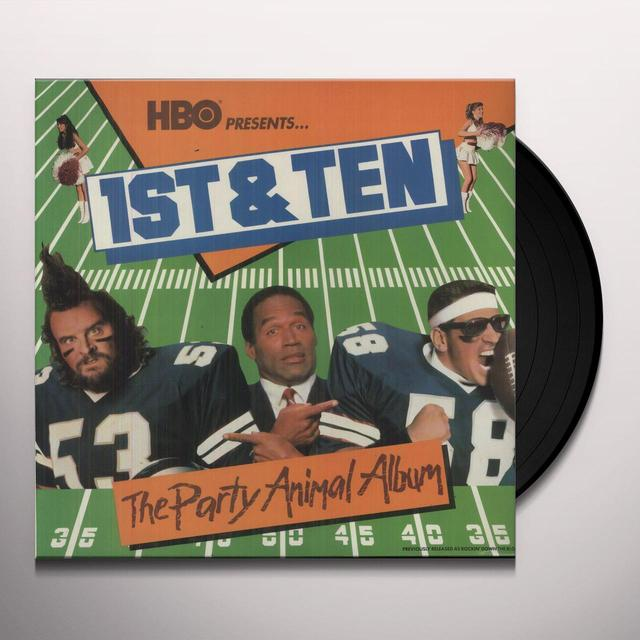 1St & Ten PARTY ANIMAL ALBUM Vinyl Record