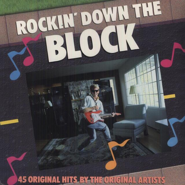 Rockin Down The Block 45 TRACKS-60'S & 70'S Vinyl Record