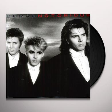 Duran Duran NOTORIOUS Vinyl Record