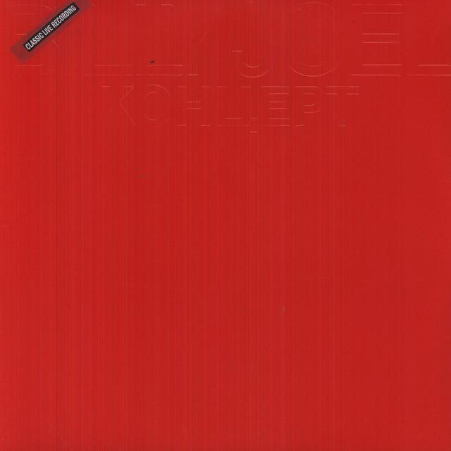 Billy Joel KOHUEPT (LIVE IN LENNINGRAD) Vinyl Record