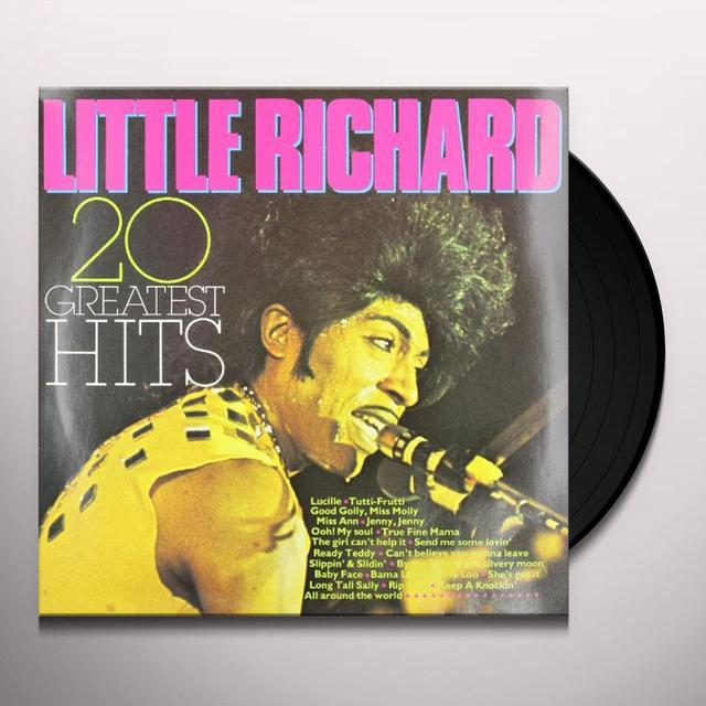 Little Richard 20 GREATEST HITS Vinyl Record