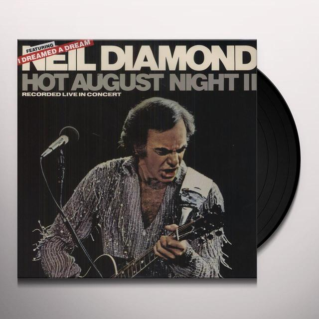 Neil Diamond HOT AUGUST NIGHT 2 Vinyl Record