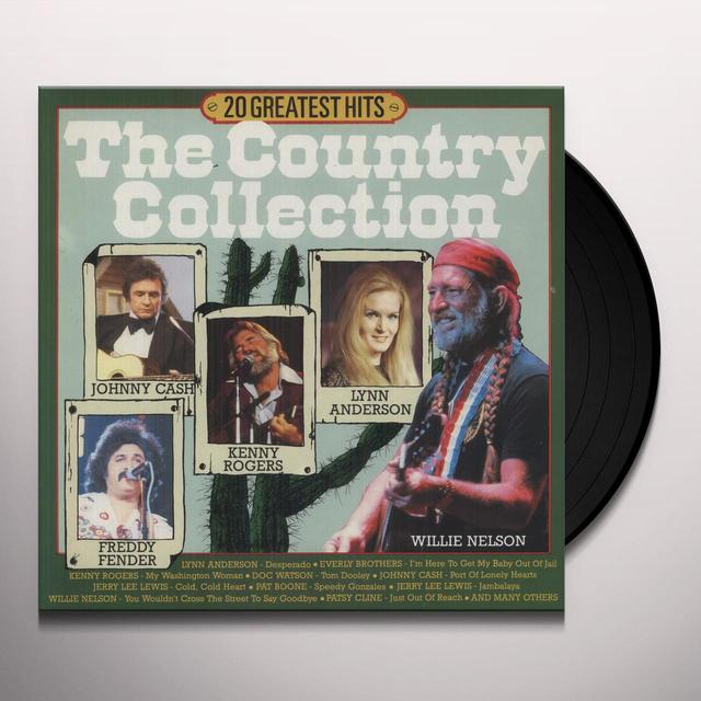 Country Collection 20 GREATEST Vinyl Record