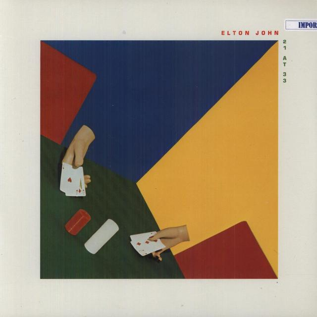 Elton John 21 AT 33 Vinyl Record