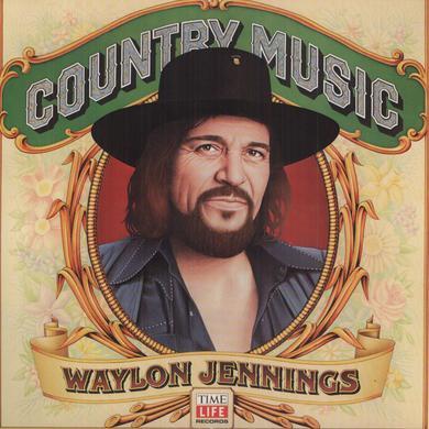 Waylon Jennings COUNTRY MUSIC Vinyl Record