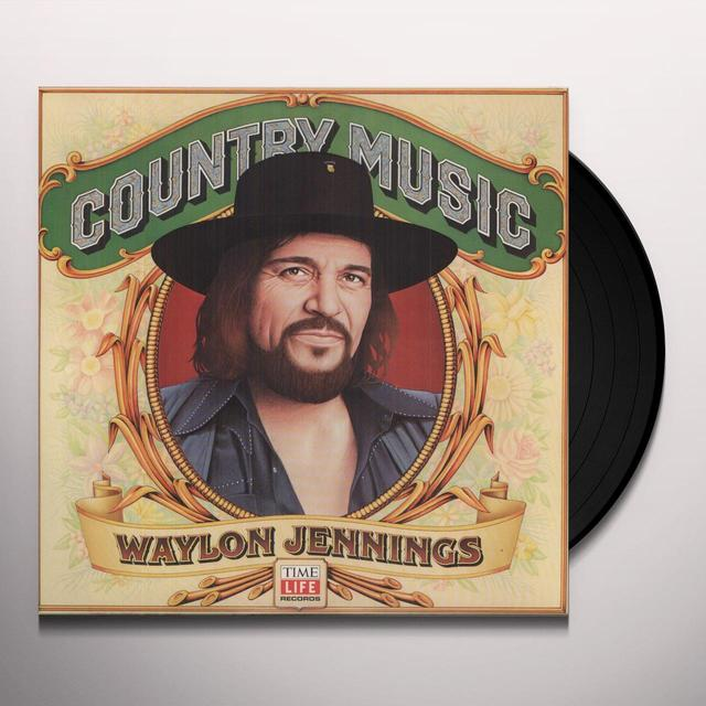 Waylon Jennings COUNTRY MUSIC Vinyl Record