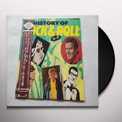 Rock Box HISTORY OF ROCK & ROLL Vinyl Record