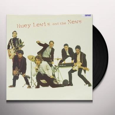 HUEY LEWIS & THE NEWS Vinyl Record