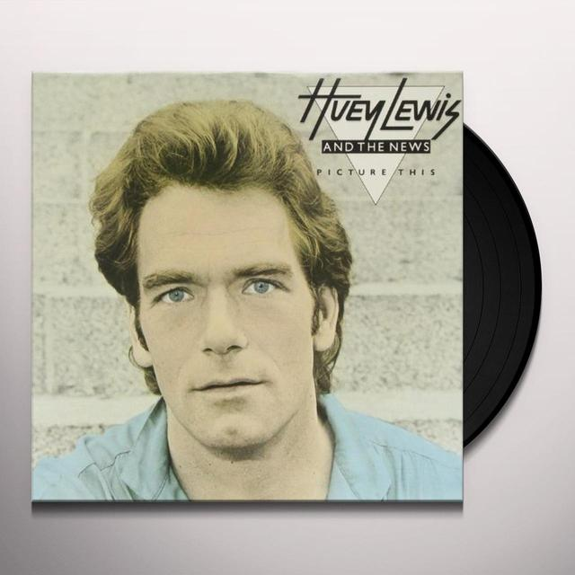 Huey Lewis & The News PICTURE THIS Vinyl Record