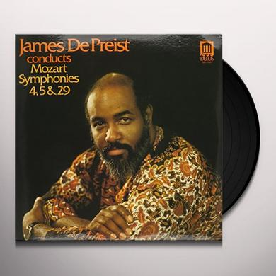 James De Preist MOZART SYMPHONIES 4 5 & 29 Vinyl Record